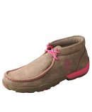 Women's Breast Cancer Awareness Driving Moc By Twisted X Boots