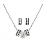 Crystal Shine Jewelry Set by Montana Silversmiths