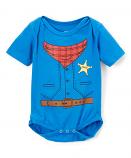 Kid's Chaps Bodysuit by Doodle Pants