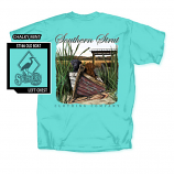 Men's Southern Strut Old Boat Short Sleeve T-Shirt by Red Horse Screen Printing