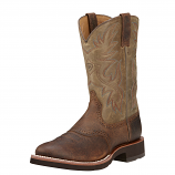 Men's Earth Brown Heritage Boot by Ariat