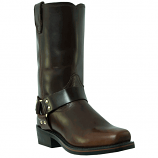 Men's Gaucho Brown Dean Harness Boot by Dingo