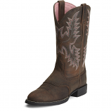 Women's Driftwood Brown Heritage Stockman Boot by Ariat