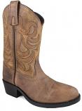 Kid's Tan Otis boot by Smoky Mountain
