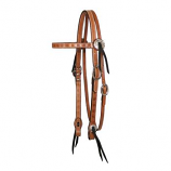 "3/4"" Spider Tooled Browband Headstall by Circle Y"