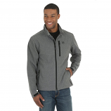 Men's Grey Water Resistant Softshell Trail Jacket by Wrangler