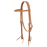 Harness Leather Browband Headstall by Weaver