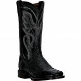 Men's Black Full Quill Cowboy Certified Boot by Dan Post Boots