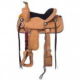 "Bailey Youth Roper Saddle 13"" by Tough-1"