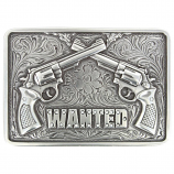 Wanted Pistols Buckle by Nocona