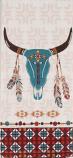 Southwest at Heart Skull Tea Towel by Kay Dee Designs