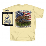 Men's Southern Strut Don't Tread 2 Short Sleeve T-Shirt by Red Horse Screen Printing