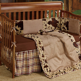 Baby Cowhide Crib Set by HiEnd Accents