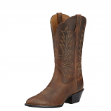 Women's Distressed Brown Heritage Boot by Ariat