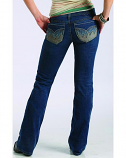Women's Ronnie Bootcut Jeans by Southern Thread