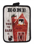 """Home Is Where the Barn Is"" Pot Holder by Kay Dee Designs"