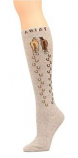 Gray Horseshoes an Horses Knee Socks by Ariat