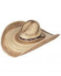 Women's Coyote Wide Brim Straw Hat by Charlie 1 Horse