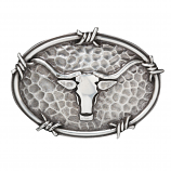 Ariat Oval Steer Head Buckle by M&F