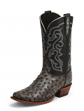 Men's Bronco Nicotine Full Quill Boot by Nocona