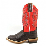 Kid's Caiman Print Western Boot by Cinch