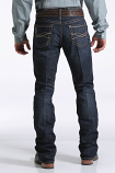 Men's Dark Wash Ian With Abstract Pocket by Cinch