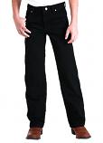Kid's Black Original Cowboy Cut Wrangler Jeans
