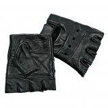 Interstate Fingerless Leather Gloves by Carroll Companies