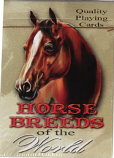 Horse Breeds of the World Playing Cards by Rivers Edge Products