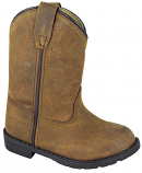 Kid's Distressed Brown Hopalong Boot for Toddlers by Smoky Mountain Boots