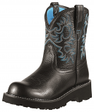 Women's Black and Deertan Fatbaby by Ariat