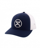 Cody Ohl Signature Series Navy and White Ball Cap by Hooey