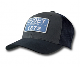 """Moab"" Gray & Blue Trucker by Hooey"