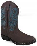 Kid's Dark Brown and Blue Monterey Smoky Mountain Boot