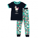 Kid's I Believe Unicorn Girl PJ Set by Lazy One