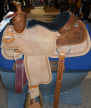 "15"" Xtreme Performance Roping Saddle by Circle Y (DEMO)"