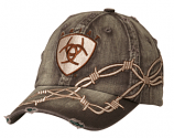 Men's Vintage Patch Barbwire Ball Cap by Ariat