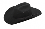 Kid's Youth Black or Brown Western Felt Hat