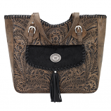 Annie's Secret Large Zip Tote Conceal and Carry by American West