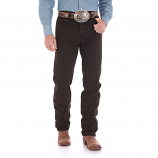 Men's Black Chocolate Cowboy Cut Jeans by Wrangler