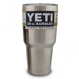 Rambler Tumbler 30oz by Yeti Coolers