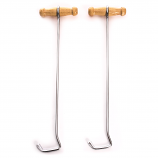 "Wood Handled 13"" Boot Hooks by M&F Western"