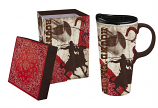 C'mon Cowboy Ceramic Travel Mug 17oz by Evergreen