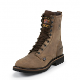 Men's Drywall Waterproof Lacer By Justin Work Boots