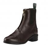 Women's Chocolate Heritage IV Paddock Zip Boot by Ariat