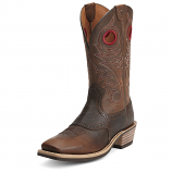 Men's Brown Oiled Rowdy Heritage Roughstock Boot by Ariat