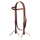 Latigo Leather Browband Headstall by Weaver