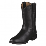 Women's Black Heritage Roper Boots by Ariat