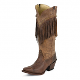 Women's Mosto Tucson Fringe Boot by Tony Lama
