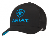 Men's Black and Blue Ball Cap by Ariat